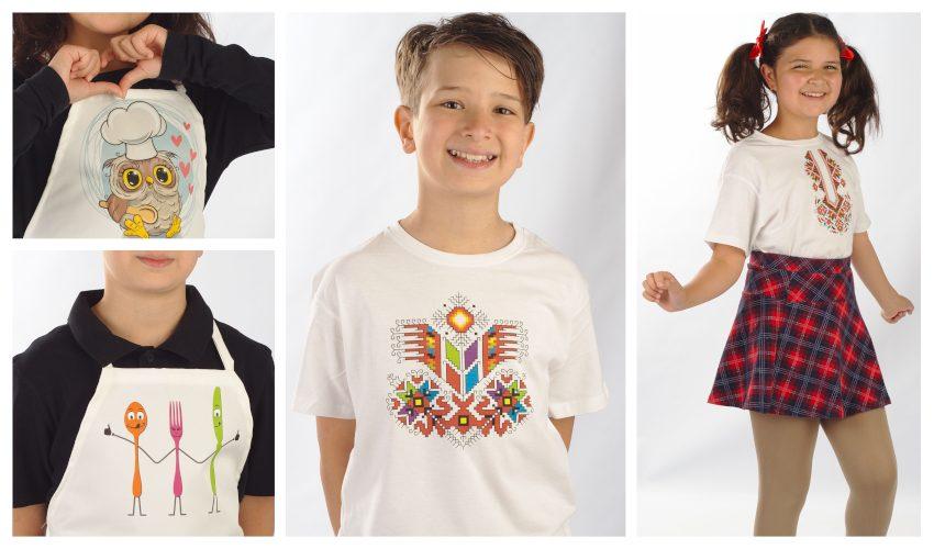 детски тениски с шевици